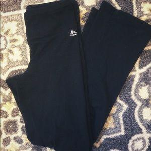 Rbx black stretch workout yoga pants small